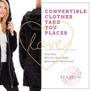Super Soft Cozy Black Faux Fur ZipUp Winter Jacket